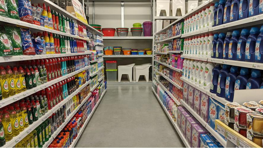 Seção Detergentes